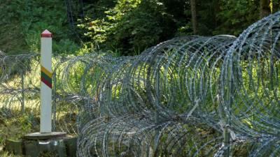 Литва закупит еще 300 км колючей проволоки для установки на границе с Белоруссией