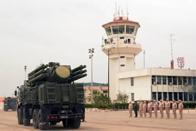 Сирийские военные отразили авиаудар Израиля