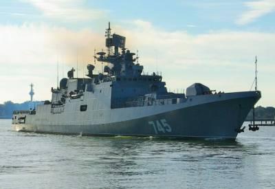 Российские корабли прибыли на учения «Аман-2021» в Пакистан