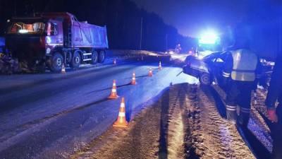 Два человека погибли в ДТП. Возможная причина – состояние дороги (ФОТО)