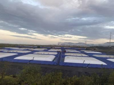 В Норильске завершили техработы по ликвидации последствий разлива дизеля
