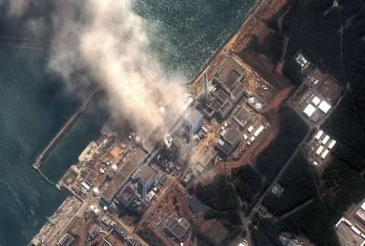 """Землетрясение в Японии: на АЭС """"Фукусима"""" расплескалась вода из хранилищ с облученным топливом"""
