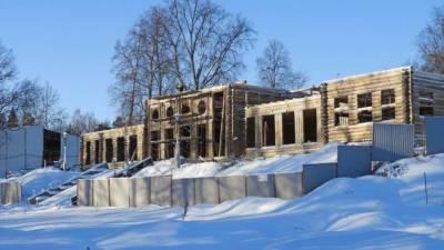 Усадебный дом в парке Монрепо отреставрируют к концу 2021 года