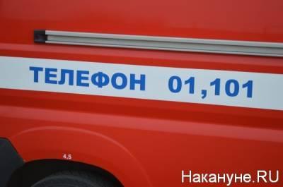 В Екатеринбурге два человека стали жертвами пожара в частном доме