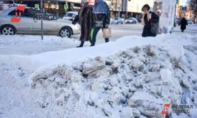 Жители Кировской области продают снег вагонами
