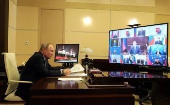 Владимир Путин отметил Вологодскую область во время обсуждения мер по локализации паводков