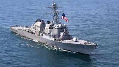 В МИД России назвали маневры США в Черном море угрозой миру