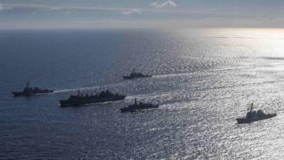 Захарова сообщила об угрозе миру из-за учений ВМС США в Черном море