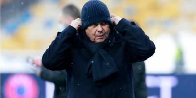 «Непонятно, почему была такая боязнь». Луческу прокомментировал ничью Динамо с Брюгге
