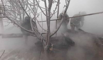 В Башкирии пожар унес жизни двух человек