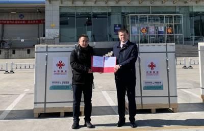 100 тысяч доз вакцины против коронавируса направлено из Китая в Беларусь