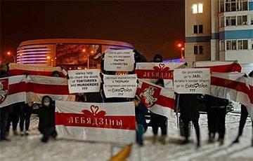 Минчане призывают отстранить Беларусь от участия в «Евровидении»