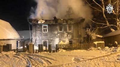 Власти Кировской области пообещали помочь пострадавшим при пожаре и дать им жилье