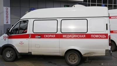 В Челябинске водитель маршрутки грубо нарушил правила и столкнулся с инкассаторской машиной, есть пострадавшие