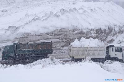 В Южно-Сахалинске спроектировали снегоплавилку за 600 миллионов