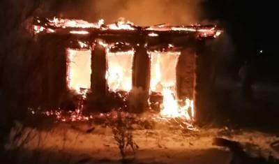 В Башкирии пожар унес жизнь пожилого мужчины