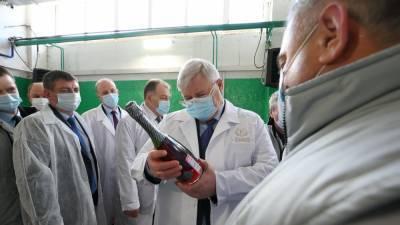 Губернатор Томской области открыл производство игристых вин из сибирских ягод