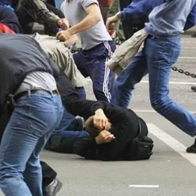 Массовая драка произошла в центре Москвы