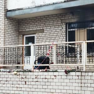 В запорожской инфекционной больнице сработала аварийно-звуковая сигнализация