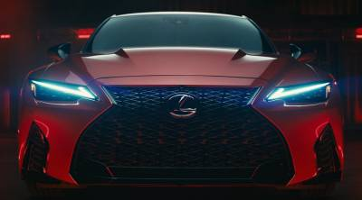 Lexus представил новый «заряженный» седан Lexus IS 500 F Sport Perfomance