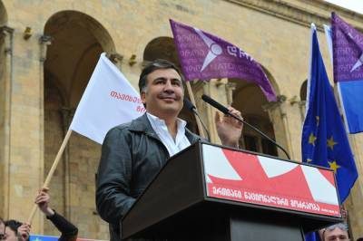 В Грузии полиция арестовала главу партии Михаила Саакашвили