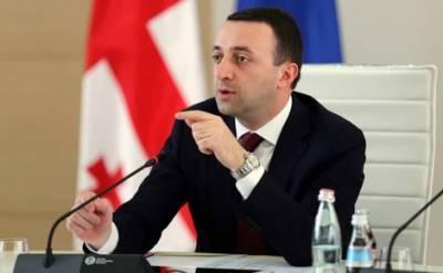 Премьер-министр Грузии Ираклий Гарибашвили поблагодарил министра внутренних дел за арест Никанора Мелии