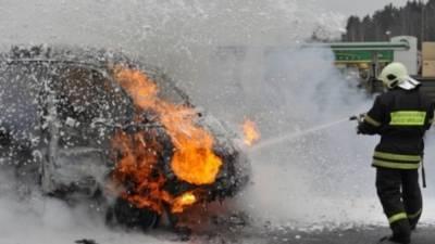 Пожар уничтожил десять автобусов в Кировской области