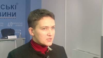 Надежда Савченко предсказала новый Майдан на Украине