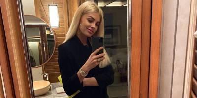 «Как чувственно». Жена Зинченко поделилась фото в вечернем платье