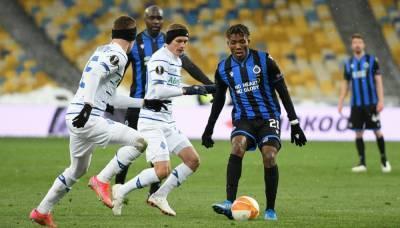 Брюгге не сможет перенести ответный матч против Динамо