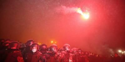 Приговор Стерненко: Геращенко обвинил протестующих в «нечеловеческом насилии» по отношению к нацгвардейцам