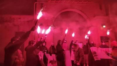 Вести в 20:00. После приговора Берии националисты штурмовали офис Зеленского