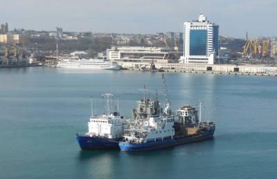 В портах Одесской области проводят дноуглубление