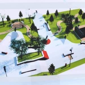 Две зоны отдыха и фонтан: как будет выглядеть площадь Запорожская после реконструкции. Фото