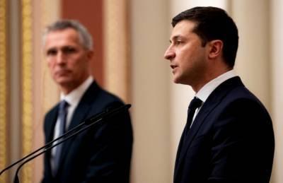 Зеленский: Рад, что двери НАТО для Украины открыты