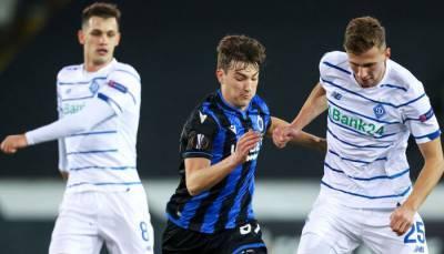 Динамо вышло в 1/8 финала Лиги Европы, обыграв Брюгге в Бельгии