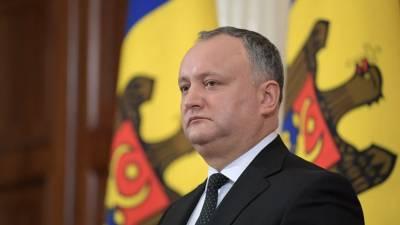 Додон сообщил о регистрации вакцины «Спутник V» в Молдавии
