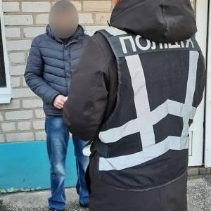 В Запорожской области задержали грузина, который не покинул страну после освобождения из колонии