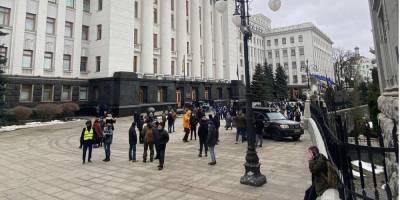 «Справедливость Стерненку». В Киеве началась бессрочная акция протеста — что происходит