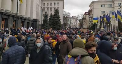 Участники акции в поддержку Стерненко озвучили требования к власти (фото, видео)