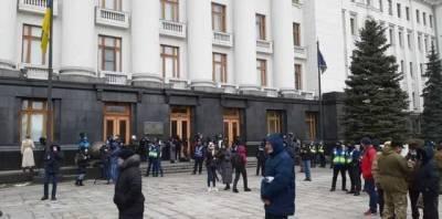 В центре Киева тысячи людей собрались на акцию в поддержку Стерненко и выдвинули условия власти