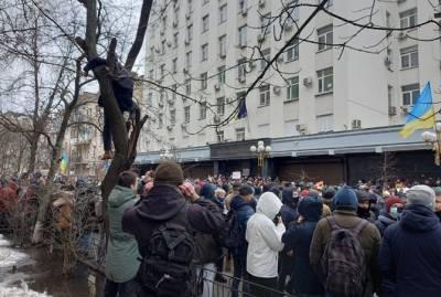 Протест в поддержку Стерненко в Киеве: Кто пришел и чего хотят организаторы
