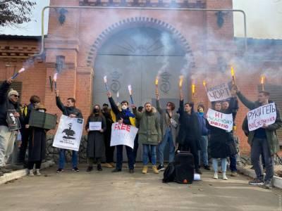 В Одессе протестующие пришли под СИЗО, где находится Стерненко