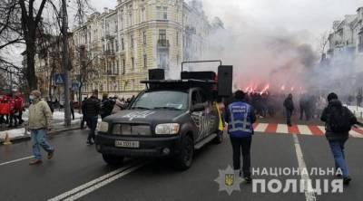 Нарушений на митинге в поддержку Стерненко не зафиксировано – полиция