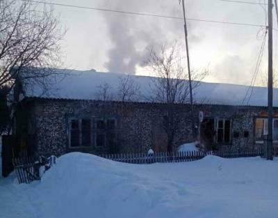Два человека погибли во время пожара в Томской области