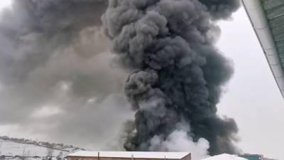 Минимум четыре человека погибли во время пожара в лагере беженцев Эль-Холь в Сирии