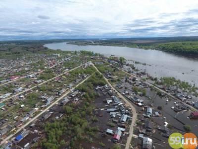 В период весеннего половодья в зоне риска окажутся 113 населенных пунктов Пермского края