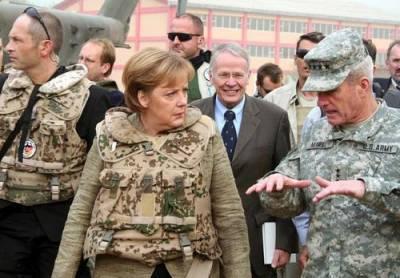США остановили вывод своих войск из Германии