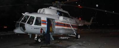 Борт МЧС экстренно эвакуировал женщину с судна у берегов Сахалина