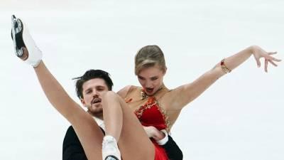 Степанова и Букин из команды Медведевой выиграли ритм-танец на Кубке Первого канала